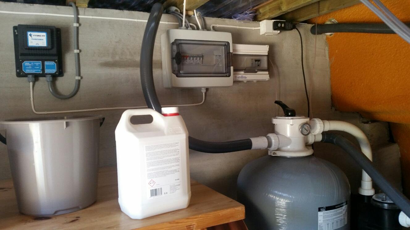 pumpesystem for basseng