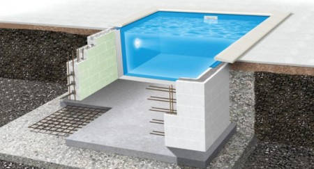 Styropor pool (forsterket thermopool)